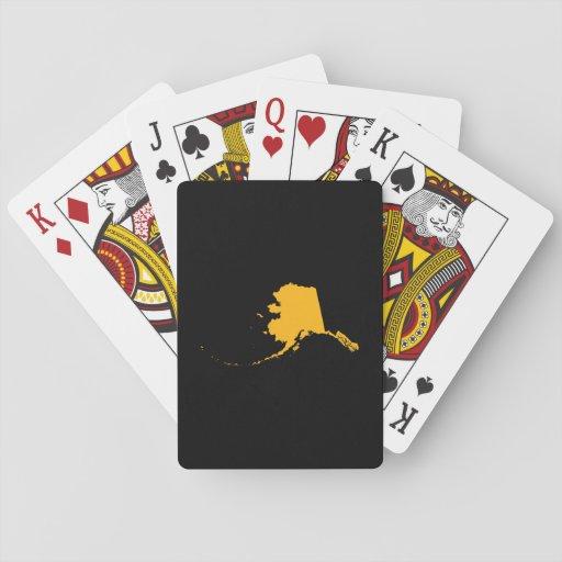 Black Gold Alaska Poker Cards
