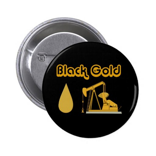 Black Gold Buttons