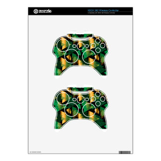black gold christmas trees xbox 360 controller decal