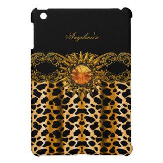 Black Gold Cow Elegant Black Jewel Image iPad Mini Cover