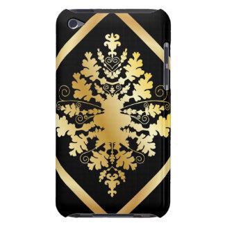 Black & Gold Damask iPod Case-Mate Cases