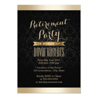 retirement party invitations  announcements  zazzle, Party invitations