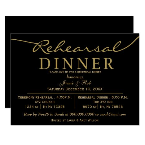 Dinner Invites