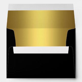 Black Gold Envelope