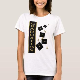 Black + Gold Graduation T-Shirt