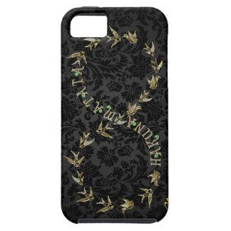 Black &  Gold Hakuna Matata Infinity Symbol iPhone SE/5/5s Case