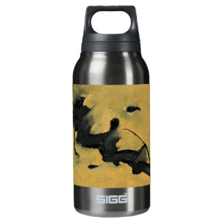 Black & Gold Insulated Water Bottle