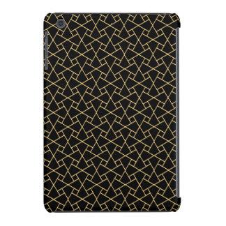 Black, Gold Islamic Pattern: iPad Case-Mate Case