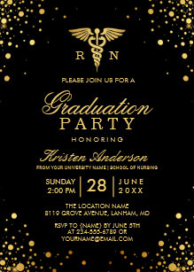 Nursing Graduation Invitations