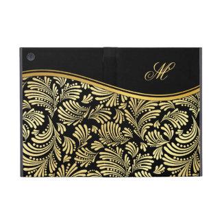 Black Gold Monogram Folio iPad Mini iPad Mini Covers