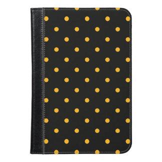 Black & Gold Polka Dots iPad Mini Case