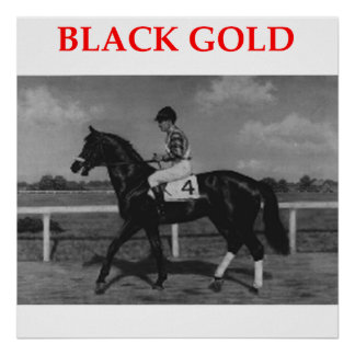 black gold posters