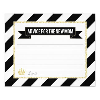 Black Gold Prince Advice for the New Mom Flyer
