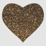 Black gold sparkly glitter stickers
