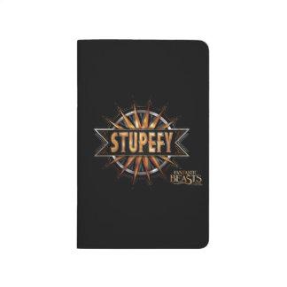 Black & Gold Stupefy Spell Graphic Journal