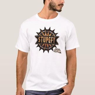 Black & Gold Stupefy Spell Graphic T-Shirt
