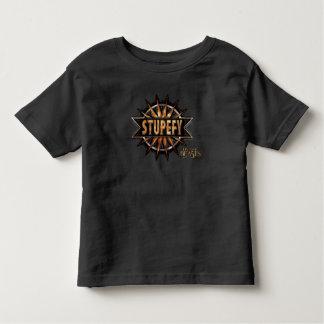 Black & Gold Stupefy Spell Graphic Toddler T-shirt