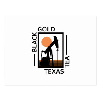 Black Gold Texas Tea Postcard