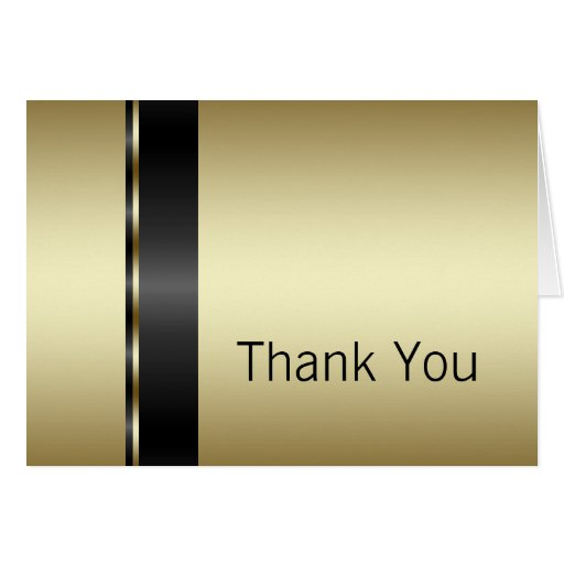 Black_gold_thank_you_cards 137411657067220741 on Latest Writing A Thank You Note