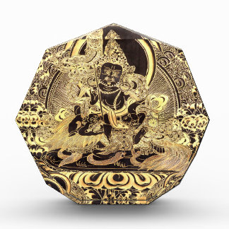 Black & Gold Tibetan Buddhist Art Award