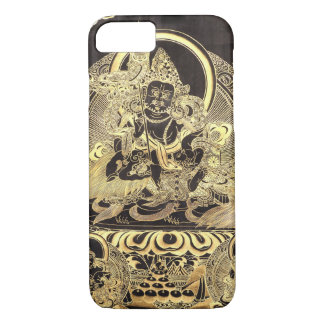 Black & Gold Tibetan Buddhist Art iPhone 7 Case