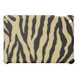 Black/Gold Tiger Stripe iPad Case