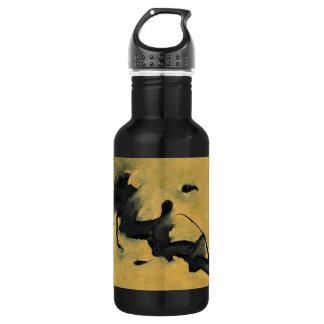 Black & Gold Water Bottle