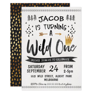 boy 1st birthday invitations zazzle