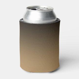 Black Golden Ombre Can Cooler