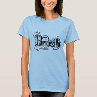 Black Gothic Bridezilla T-Shirt