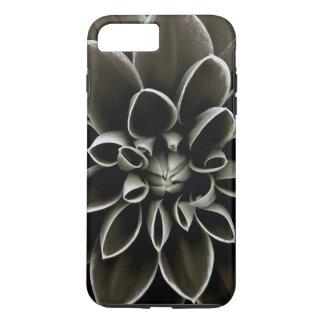 Black Gothic Dahlia Flower Floral Elegant Nature iPhone 8 Plus/7 Plus Case