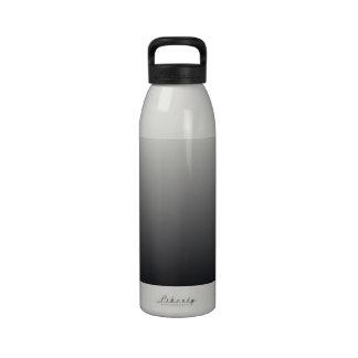 Black Gradient Water Bottles