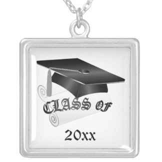 Black Graduation Necklace