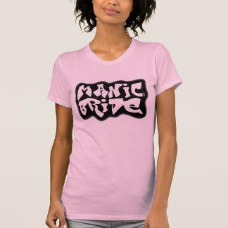 BLACK GRAFFITI Bride T-Shirt (Pink)