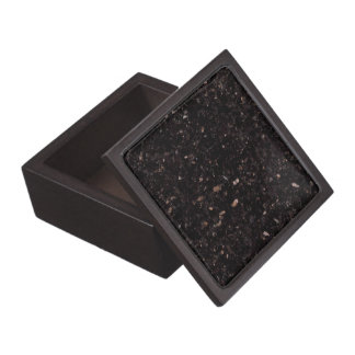 Black Granite Jewelry Box