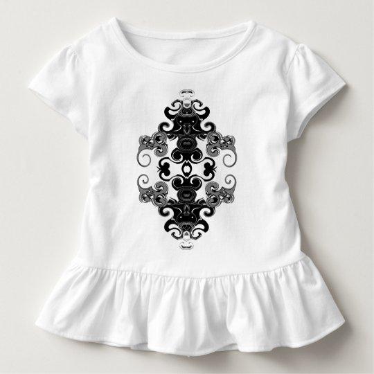 Black  Graphic Toddler T-shirt