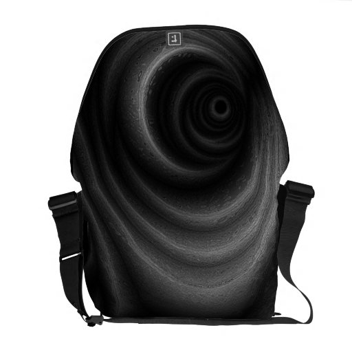 Black Gravity Courier Bags