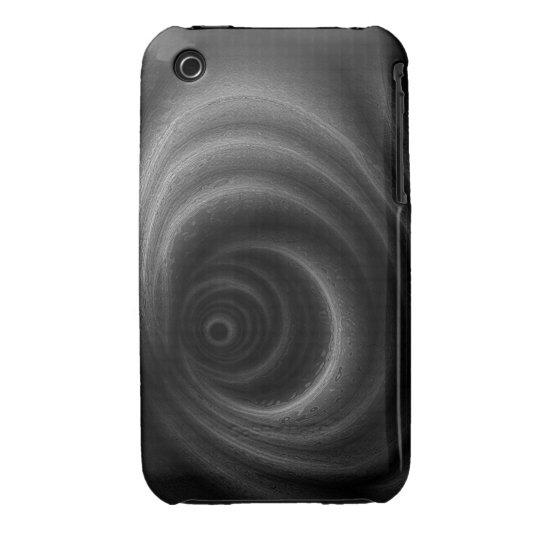 Black Gravity iPhone 3 Case-Mate Case
