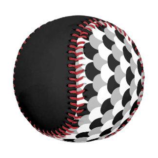 Black, Gray and White Gumdrops Baseball