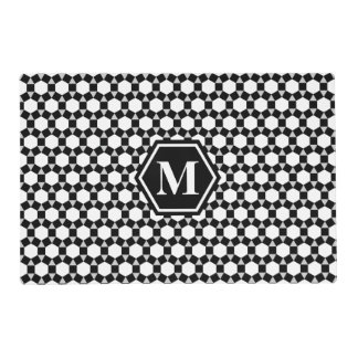 Black, Gray and White STH Placemat