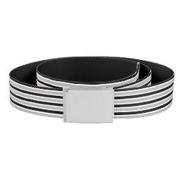 Black & Gray Belt