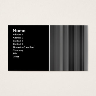 black_gray business card