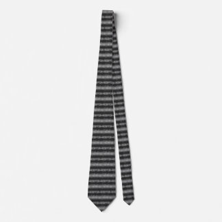 Black, Gray, White Dot Pattern Tie
