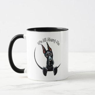 Black Great Dane IAAM Mug