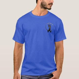 Black Great Dane IAAM Pocket/Back T-Shirt