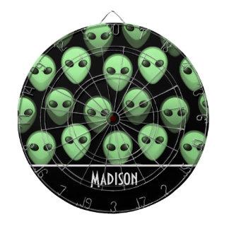Black & Green Alien Dartboard