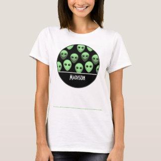 Black & Green Alien T-Shirt
