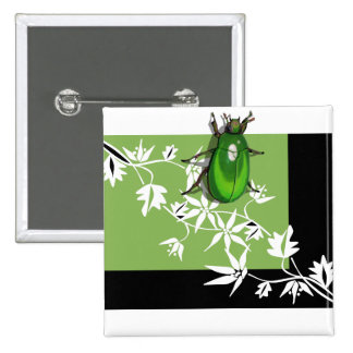 black green clematis scarab beetle buttons