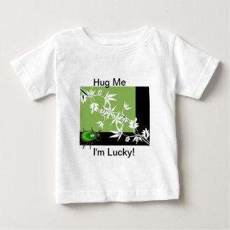 black green clematis scarab beetle kids shirt