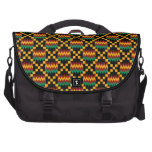 Black, Green, Red, and Yellow Kente Cloth Commuter Bags